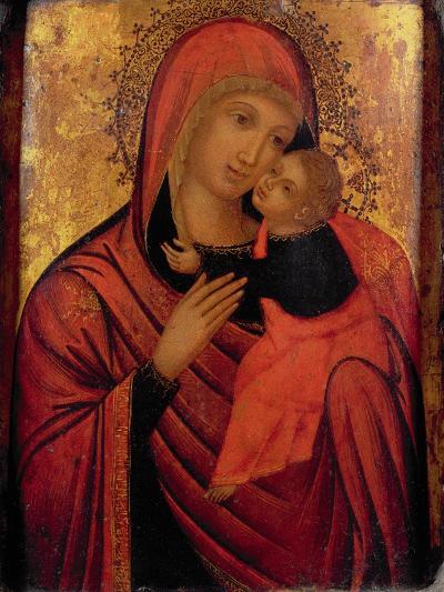 Madonna and Child, C.1650 (Panel)- Veneto-Byzantine-Giclee Print