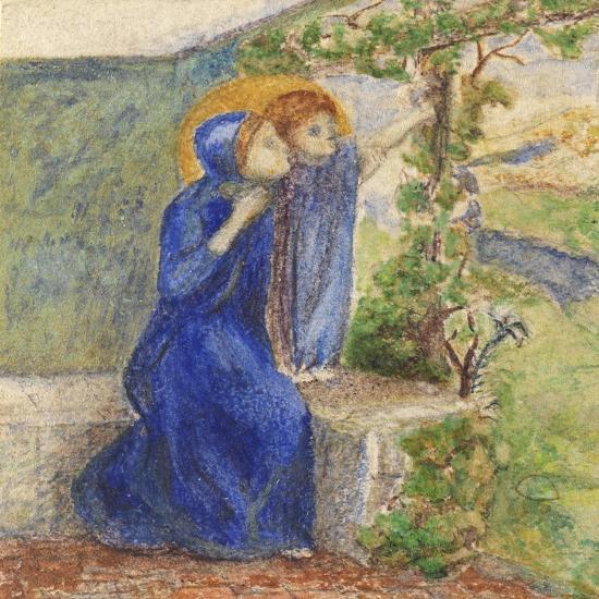 Madonna and Child, C.1855-Elizabeth Eleanor Siddal-Giclee Print