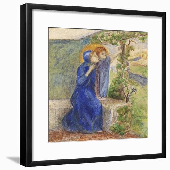 Madonna and Child, C.1855-Elizabeth Eleanor Siddal-Framed Giclee Print