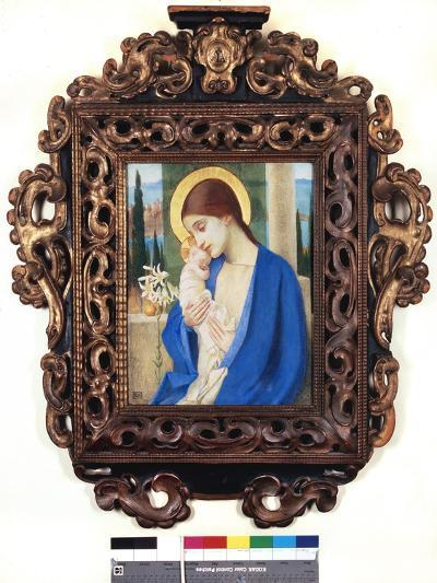 Madonna and Child, c.1905-Marianne Stokes-Giclee Print