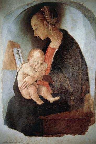 Madonna and Child, Ca 1498--Giclee Print