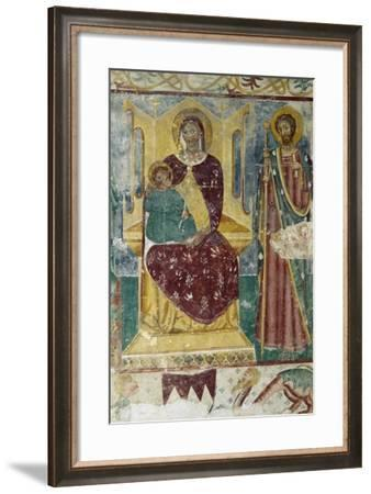 Madonna and Child, Church of Abbey of Santa Maria in Sylvis, Sesto Al Reghena, Italy--Framed Giclee Print