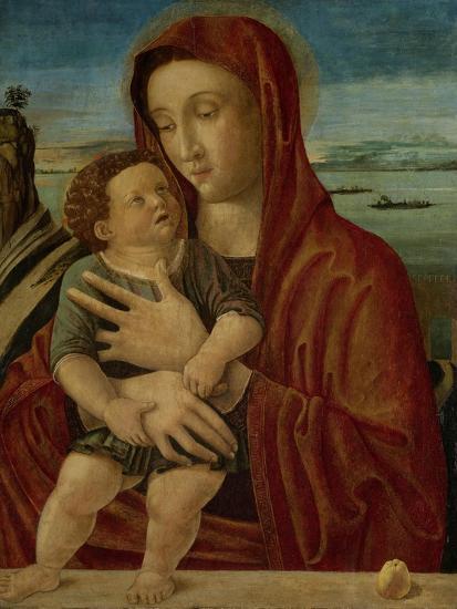 Madonna and Child, Circle of Giovanni Bellini-Giovanni Bellini-Art Print