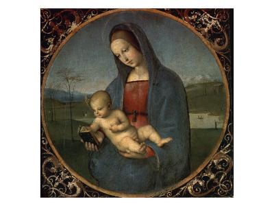 Madonna and Child (Conestabile Madonna)-Raphael-Giclee Print