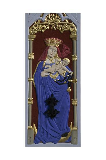 Madonna and Child, Decoration on the House of the Blackheads--Giclee Print