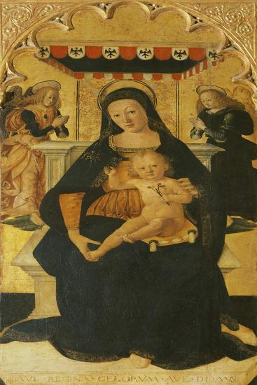 Madonna and Child Enthroned, 1511--Giclee Print