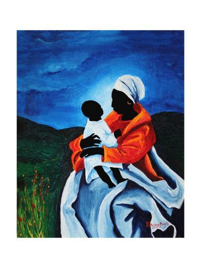 Madonna and Child - First Words, 2008-Patricia Brintle-Giclee Print