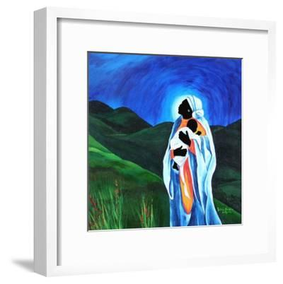 Madonna and Child - Hope for the World, 2008-Patricia Brintle-Framed Giclee Print