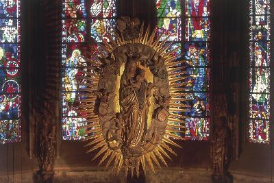Madonna and Child, the Choir, Cathedral of Aachen--Giclee Print