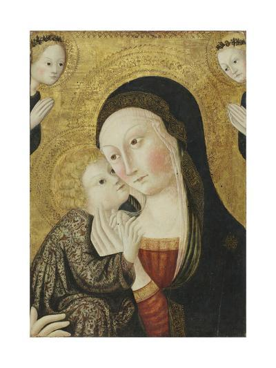 Madonna and Child with Angels, 1430-45-Sano di Pietro-Giclee Print