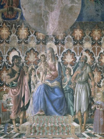 Madonna and Child with Angels, C1443-Andrea Del Castagno-Giclee Print
