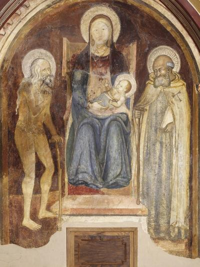 Madonna and Child with Saints, 14th-15th Century--Giclee Print