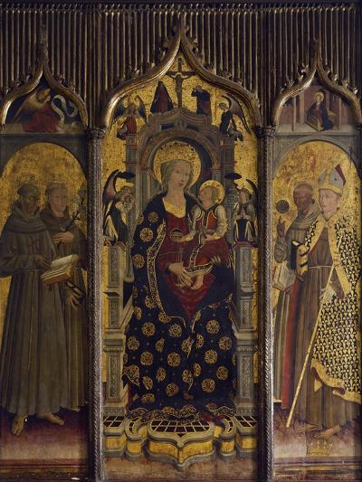 Madonna and Child with Saints, Ca 1460--Giclee Print