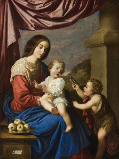 Madonna and Child with the Infant Saint John, 1658-Francisco de Zurbaran-Giclee Print