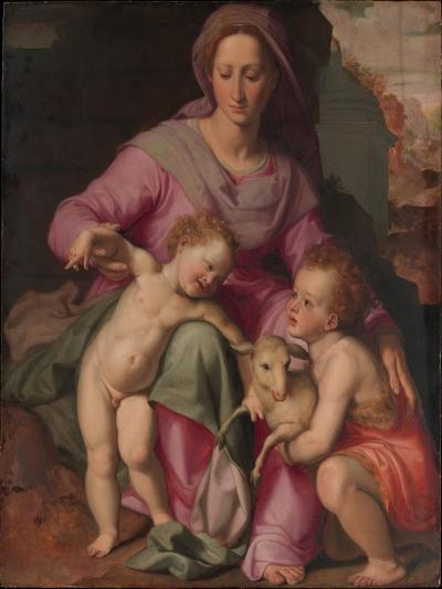 Madonna and Child with the Infant Saint John the Baptist, c.1572-Santi di Tito-Giclee Print