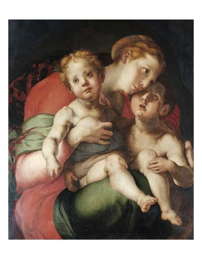 Madonna and Child with the Young St. John-Pontormo-Giclee Print