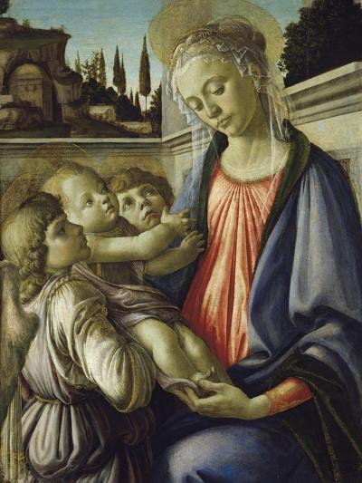 Madonna and Child-Sandro Botticelli-Giclee Print