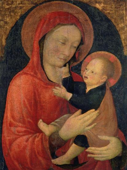 Madonna and Child-Jacopo Bellini-Giclee Print