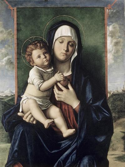 Madonna and Child-Giovanni Bellini-Giclee Print