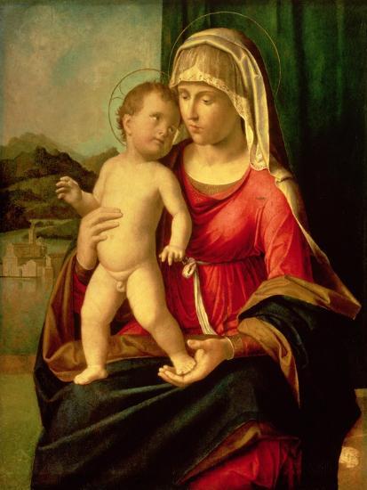 Madonna and Child-Giovanni Battista Cima Da Conegliano-Giclee Print