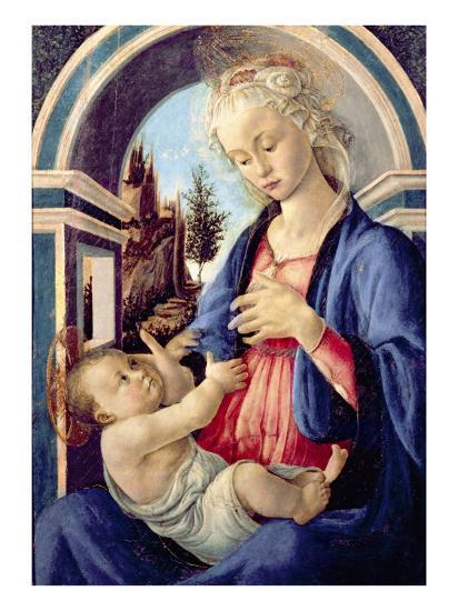 Madonna and Child-Sandro Botticelli-Giclee Print