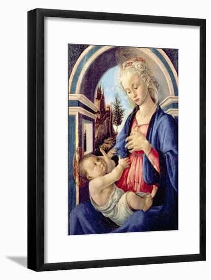 Madonna and Child-Sandro Botticelli-Framed Giclee Print