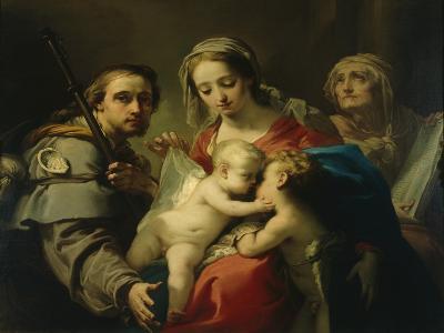 Madonna and Child-Gaetano Gandolfi-Giclee Print