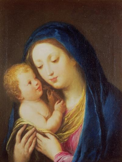 Madonna and Child-Francesco Zuccarelli-Giclee Print