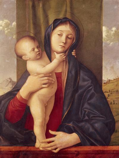 Madonna and Child--Giclee Print