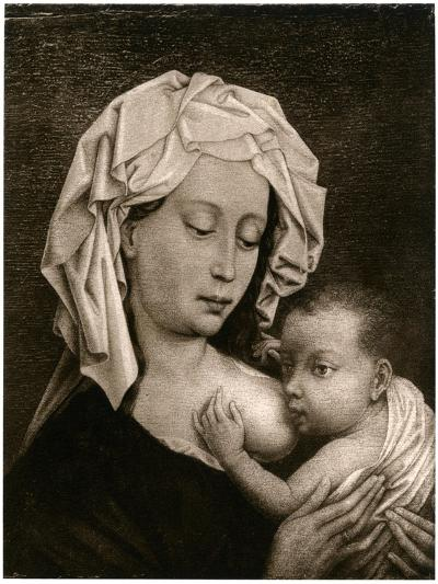Madonna and Child-Rogier van der Weyden-Giclee Print