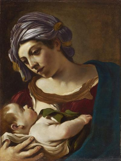 Madonna and Child-Guercino-Giclee Print