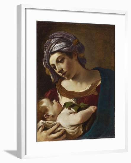 Madonna and Child-Guercino-Framed Giclee Print
