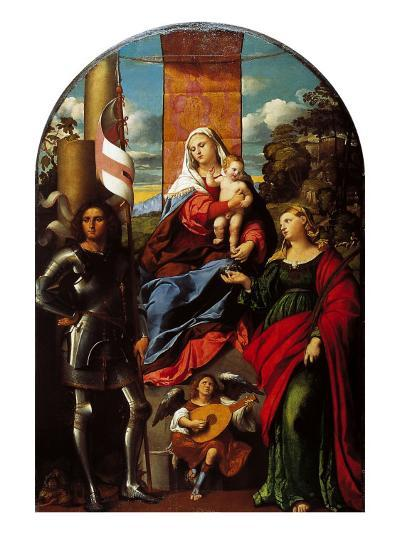 Madonna Between St George and St Lucy--Giclee Print