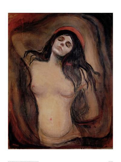 Madonna, c.1895-Edvard Munch-Giclee Print