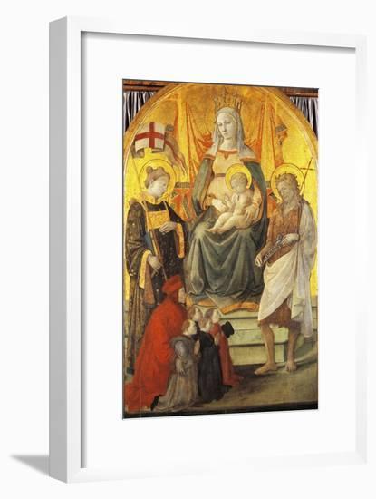 Madonna Del Ceppo, 1452-1453-Filippo Lippi-Framed Giclee Print