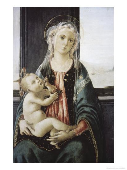Madonna Del Mare-Sandro Botticelli-Giclee Print