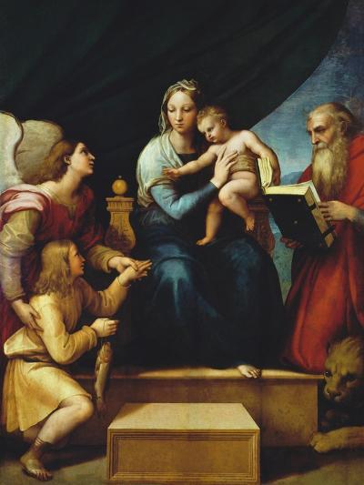 Madonna Del Pesce-Raphael-Giclee Print