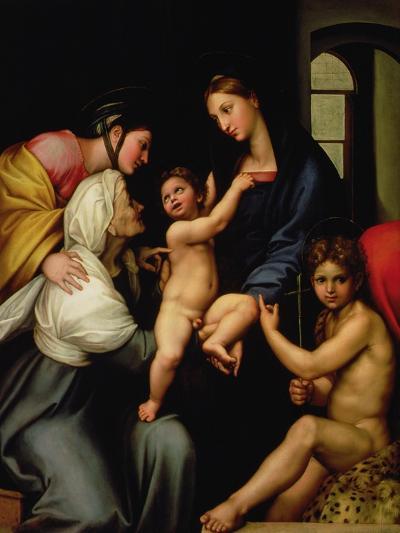 Madonna Dell'Impannata-Raphael-Giclee Print