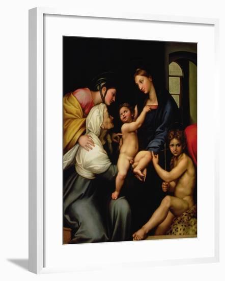 Madonna Dell'Impannata-Raphael-Framed Giclee Print