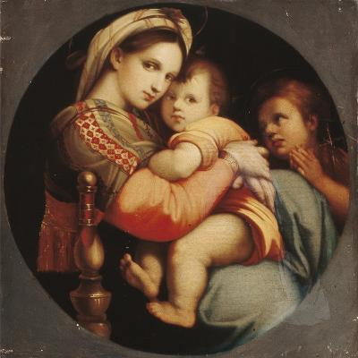 Madonna Della Sedia-Raphael-Giclee Print