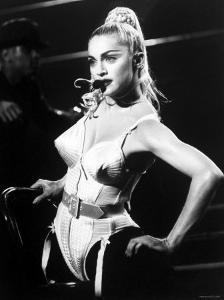 Madonna during Her Blonde Ambition Tour