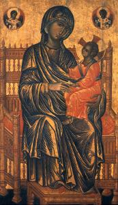 Madonna Icon, 13Th Century