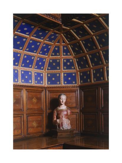 Madonna in Polychrome Terracotta Kept in the Sacristy, San Miniato Al Monte--Giclee Print
