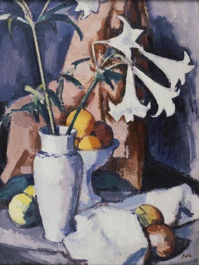 Madonna Lilies, C.1926-Samuel John Peploe-Giclee Print