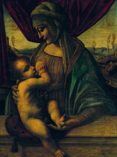 Madonna Nursing the Child--Giclee Print