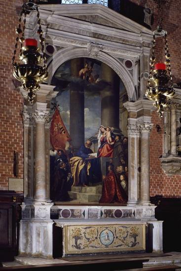 Madonna of Ca' Pesaro, 1519-1526--Giclee Print