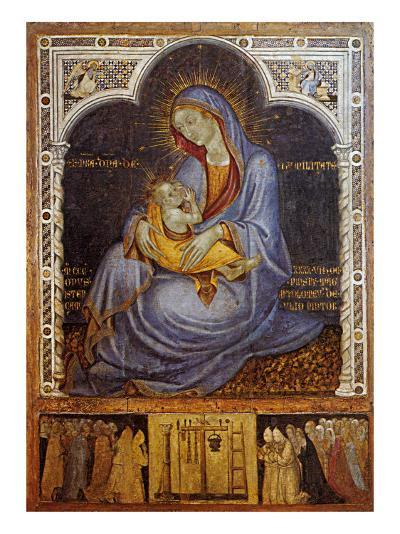 Madonna of Humility-Felice Giani-Giclee Print