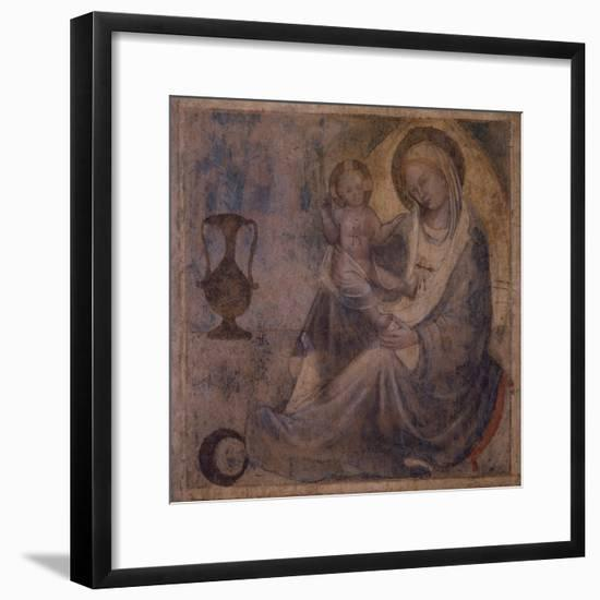 Madonna of Humility--Framed Giclee Print