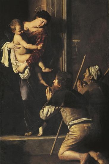Madonna of Loreto, C.1606-Caravaggio-Giclee Print