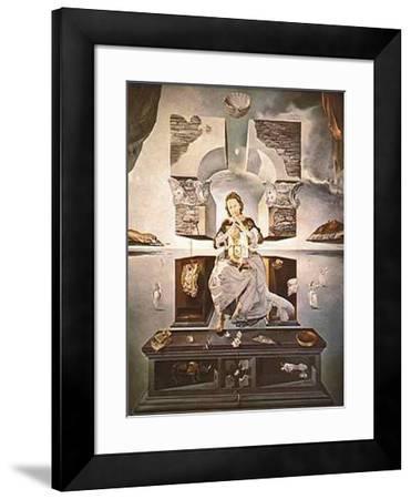 Madonna of Port Lligat-Salvador Dalí-Framed Art Print